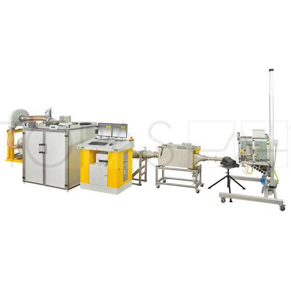abp115 air intake filter test system