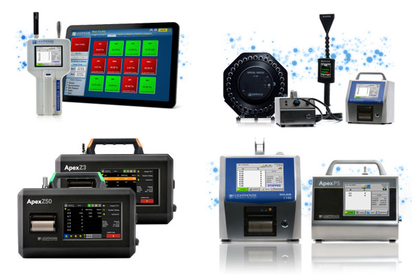 Handheld & Portable Particle Counters for Industry Professionals