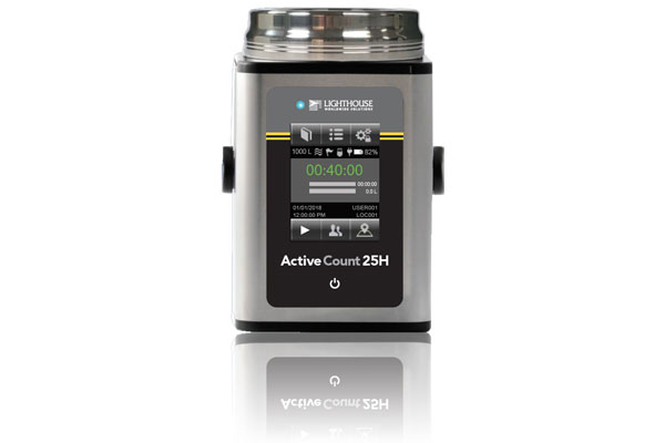 New Lighthouse ActiveCount 25H Air Sampler