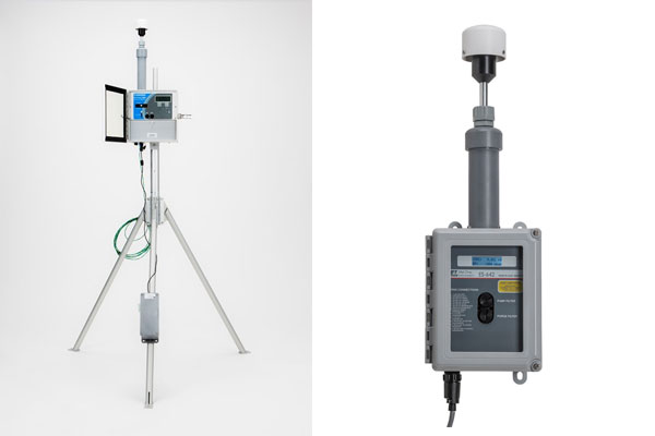 New Low Cost Real-Time Dust Monitoring Stations
