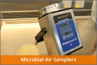 Microbial air samplers laftech