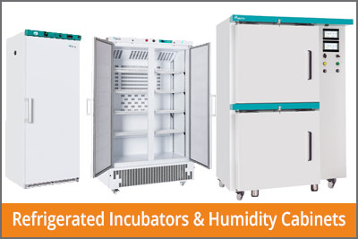 refrigerated incubator and humidity cabinets
