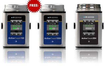 Lighthouse Microbial Air Samplers – Special Offer