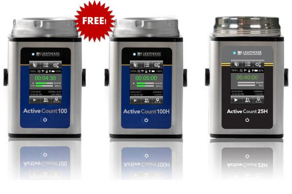 Lighthouse Microbial Air Samplers - Special Offer