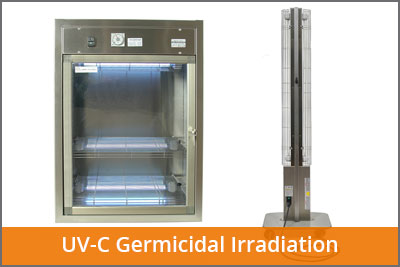 UV-C Germicidal Irradiation